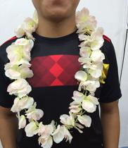 Vòng hoa nhựa đeo cổ | hoa sự kiện