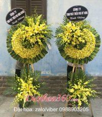 Đặt hoa chia buồn nhà tang lễ bệnh viện Thống Nhất