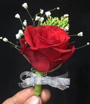 Hoa cài áo đại biểu là hoa hồng
