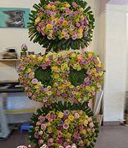 Hoa chúc mừng đám cưới 3 tầng Hàn Quốc