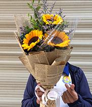 Hoa chúc mừng hội nghị – Hoa hướng dương