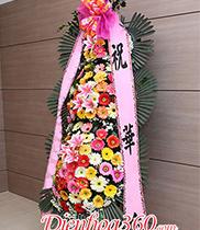 Hoa khai trương Hàn Quốc 3 tầng đẹp