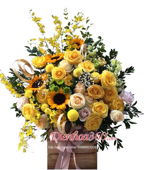 Lãng hoa đẹp tặng sinh nhật