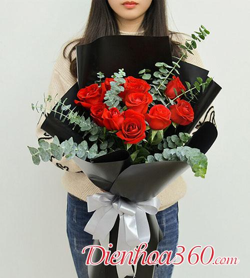 Hoa tặng valentine 1402
