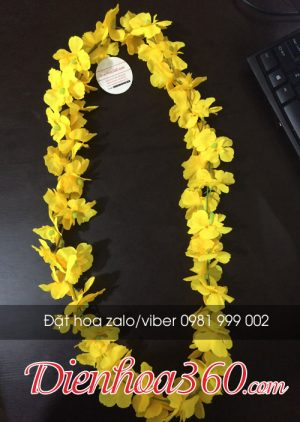 Vòng hoa đeo cổ – hoa đeo cổ giá rẻ