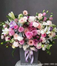 Shop hoa tươi 360 giới thiệu hoa loa kèn, Hoa loa kèn đang dần khoe sắc trong nắng mai