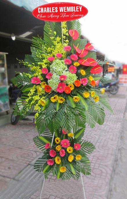 Hoa tặng khai giảng