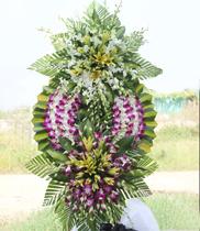 Đặt hoa viếng đám tang