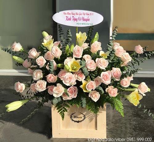 Hoa chúc mừng đẹp giá rẻ
