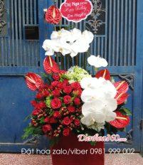 Hoa sinh nhật bạn trai và lời chúc mừng ngọt ngào