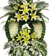 Vòng hoa đám tang giá rẻ khoảng bao nhiêu tiền