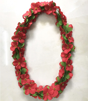 Vòng hoa đeo cổ hoa giả