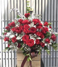 Điện hoa, hoa sinh nhật, Cách tặng hoa hồng cho người yêu