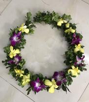 Vòng hoa đeo cổ hoa tươi, hoa đeo cổ đẹp