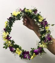 Hoa choàng cổ lễ tôn vinh – vòng hoa tươi