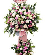 Dien hoa, Điện hoa chúc mừng giải cầu lông học sinh, mẫu hoa chúc mừng đẹp