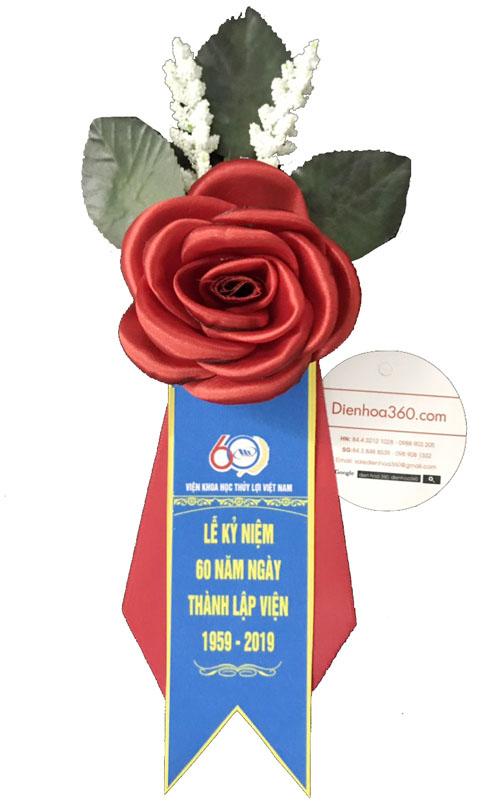 Hoa cài áo khách mời | Bán hoa cài áo tphcm | Hoa cài áo hội nghị