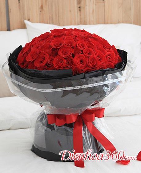 99 Bông hồng tặng vợ