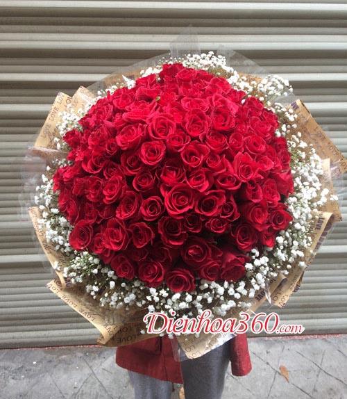 99 Red rose