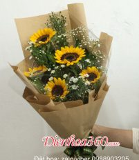Top 30 mẫu bó hoa trao giải 300k-200k-150k-100k