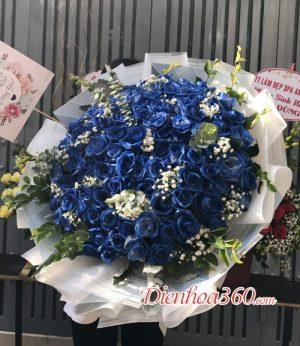 99 Bông hồng xanh