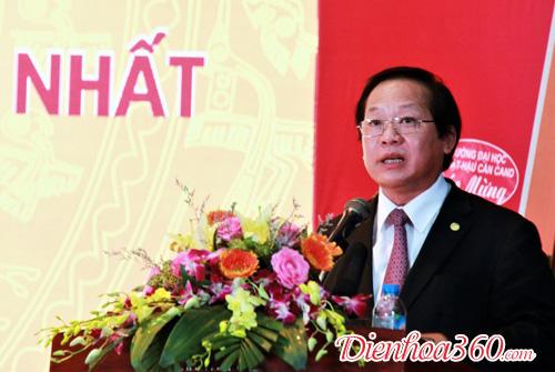 Hoa trang trí bục phát biểu Hà Nội