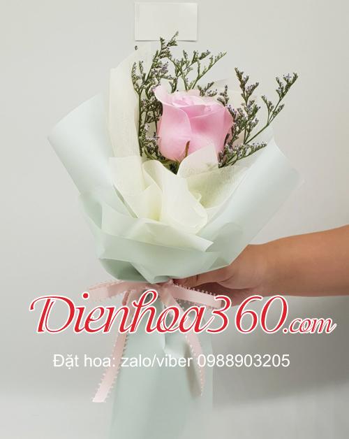 Top 99 Mẫu bó hoa 1 bông đẹp tặng chị em