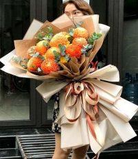 Hoa cúc mẫu đơn khổng lồ nhiều màu sắc cực đẹp