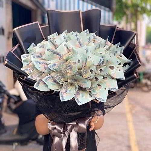 hoa bằng tiền 500k