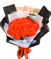 Bó hoa hồng sáp
