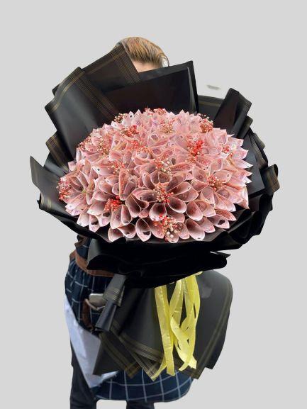 Bó hoa tiền 50k đẹp