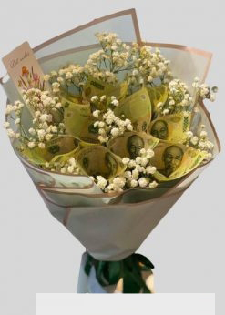 bó hoa tiền tờ 100k