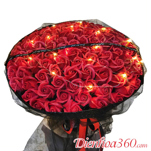 Địa chỉ mua hoa hồng sáp HN