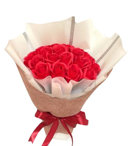 Hoa hồng sáp thơm đỏ
