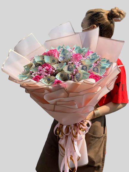 xu thế tặng hoa tiền
