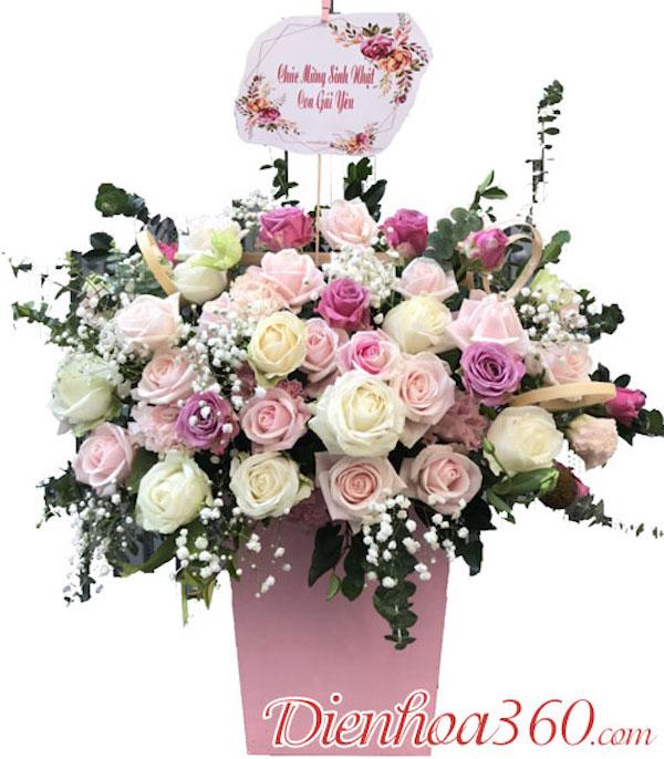 Có nên tặng hoa tươi trong dịp sinh nhật không?