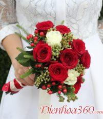 Hoa bó cầm tay – Phụ kiện không thể thiếu của cô dâu