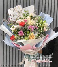 Hoa bó dài – Cách bó hoa chưa bao giờ hết hot – Điện Hoa 360