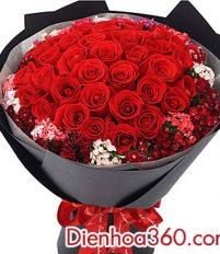 Hoa hồng tặng sinh nhật vợ – Món quà không thể thiếu