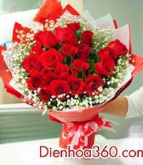 Mách bạn cách tự làm hoa hồng bó tròn cực đơn giản