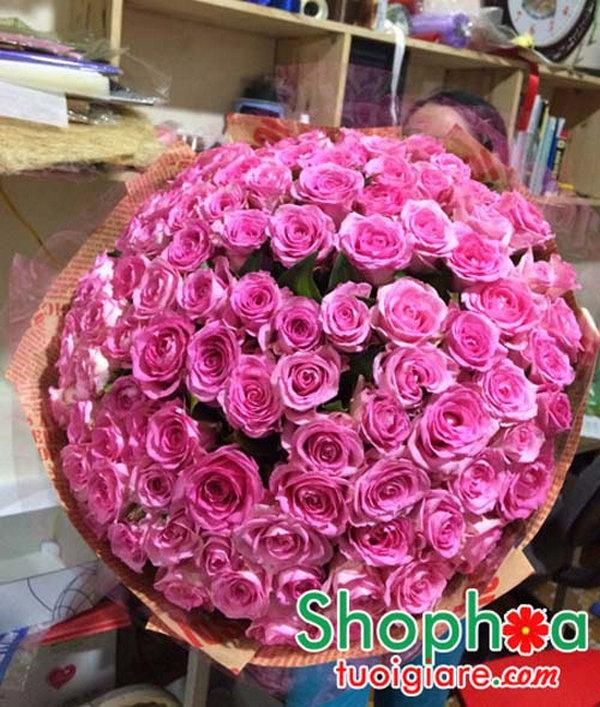 Bó hoa 99 bông hồng có ý nghĩa gì