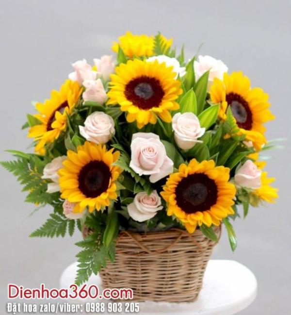 Hoa hướng dương, hoa sinh nhật