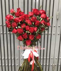 Hoa Sinh Nhật Hình Trái Tim: Top 5 Màu hoa đẹp cho bó hoa sang chảnh