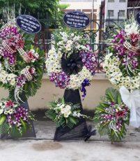 Tổng hợp 35 mẫu hoa chia buồn, Hoa tang lễ cầu giấy đẹp mà rẻ
